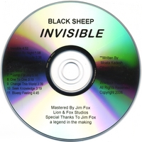 Invisible CD - BSRB